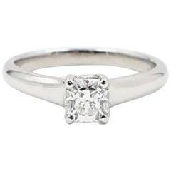 Tiffany & Co. Lucida 0.53ct  F VVS2 Diamond & Platinum Engagement Ring Appraisal