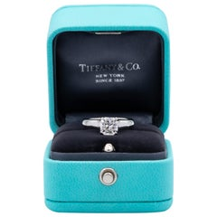 Tiffany & Co. Lucida Diamond Engagement Ring 1.51 Ct E VS2 in Platinum