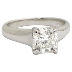 Tiffany & Co. Lucida Cut 1.39 Carat H VVS2 Engagement Ring