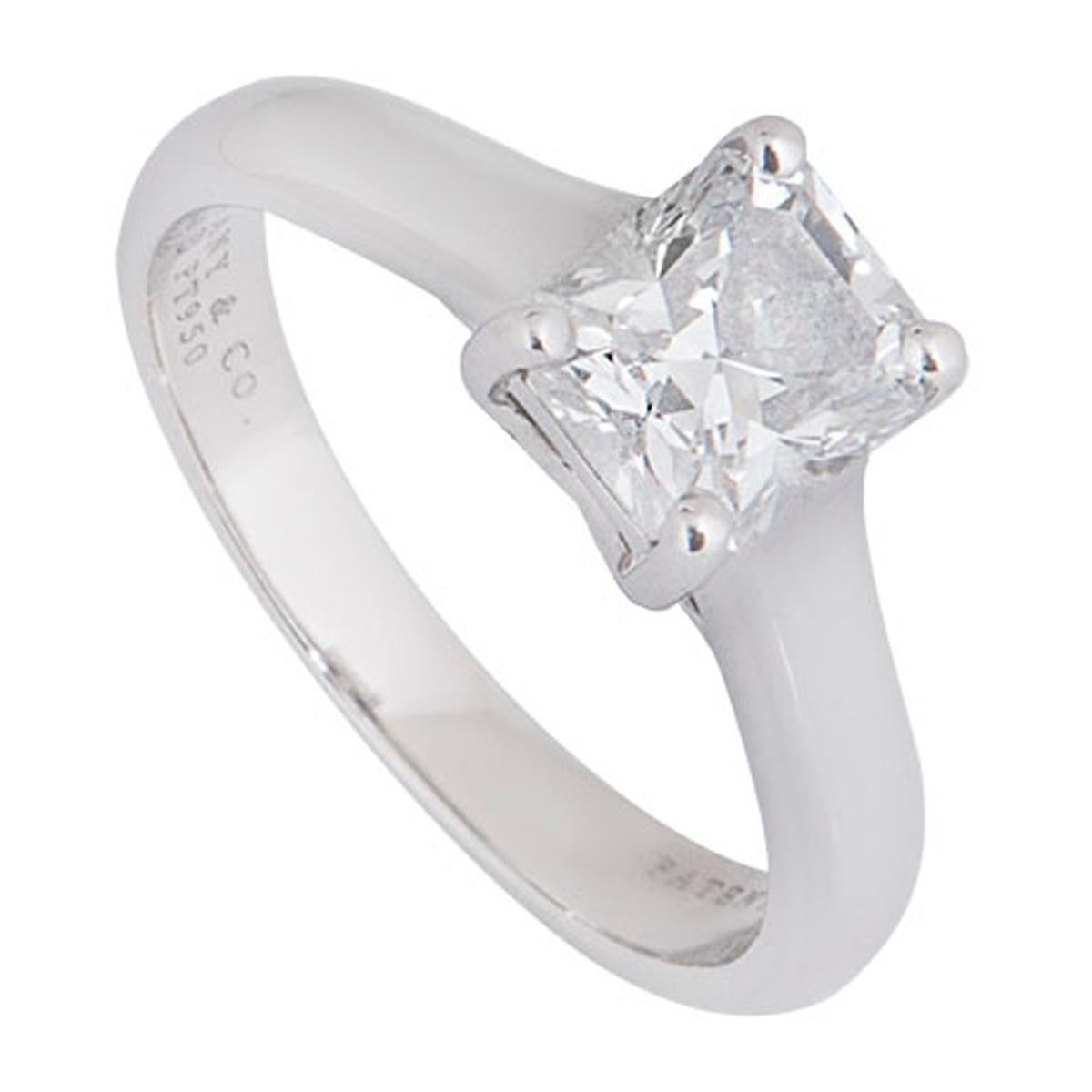 Fine Jewelry Side Stones Channel Set 18k Yellow Gold Sale Price Trend Mark 1.42 Carats Diamond Ring Solitaire