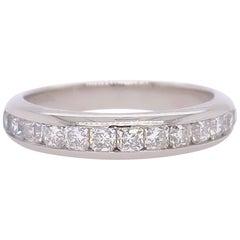 Tiffany & Co Lucida Diamond Band Platinum 0.65 Carat