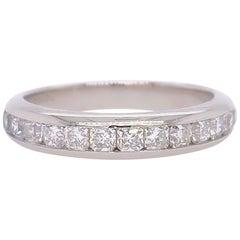 Tiffany & Co. Lucida Diamond Band Platinum 0.65 Carat