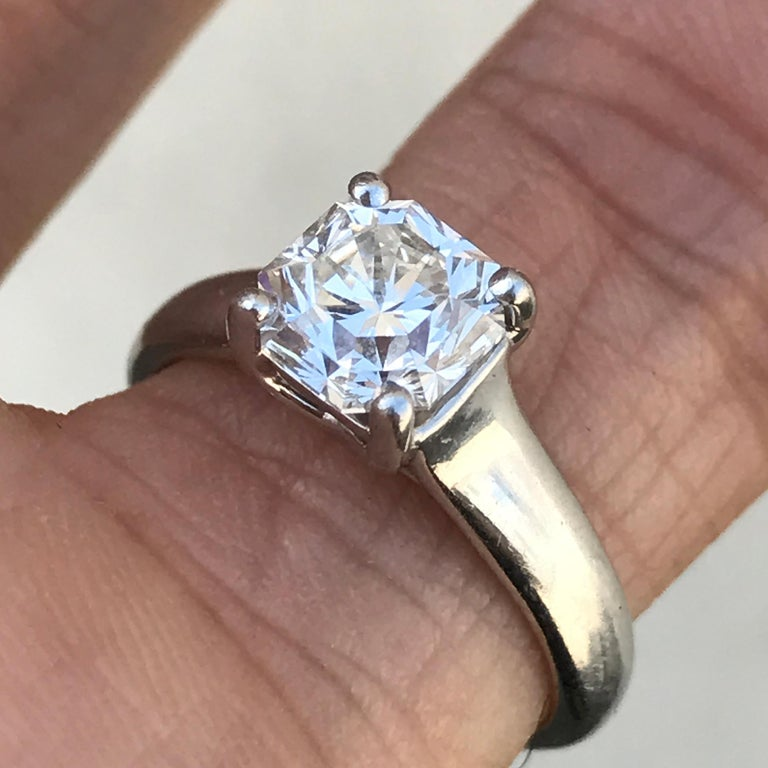 Tiffany And Co Lucida Diamond Engagement Ring 1 33 Carat