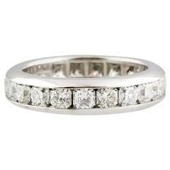 Tiffany & Co. Lucida Diamond Platinum Band
