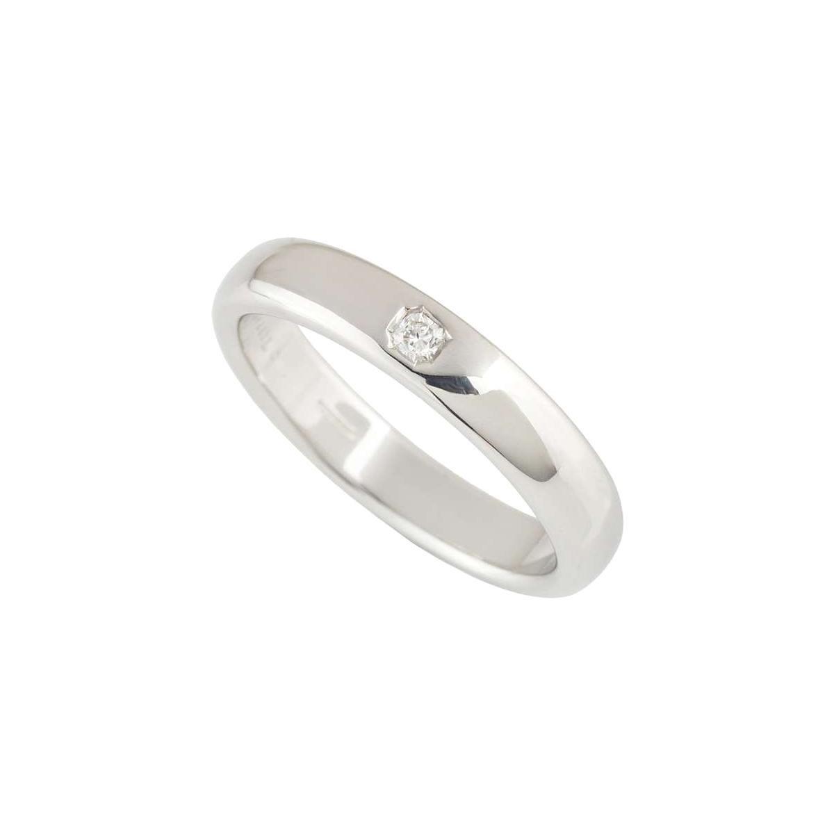 Tiffany & Co. Lucida Diamond Wedding Band in Platinum