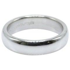 Tiffany & Co. Lucida Platinum Wedding Band Ring 4.5 MM