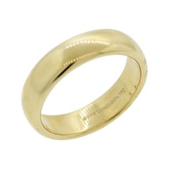 Tiffany & Co. Men's Gold Wedding Ring Band