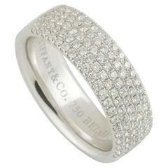 Tiffany & Co. Metro Five-Row Diamond Band Ring