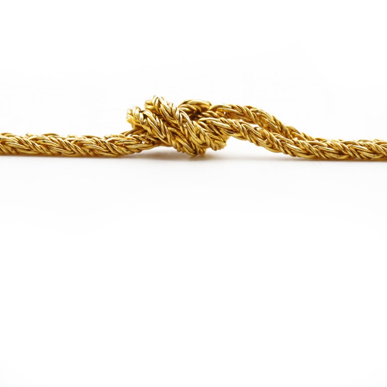 Retro Gold Necklace by Tiffany & Co., Germany For Sale