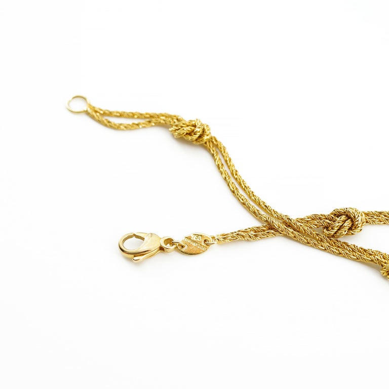Women's or Men's Gold Necklace by Tiffany & Co., Germany For Sale