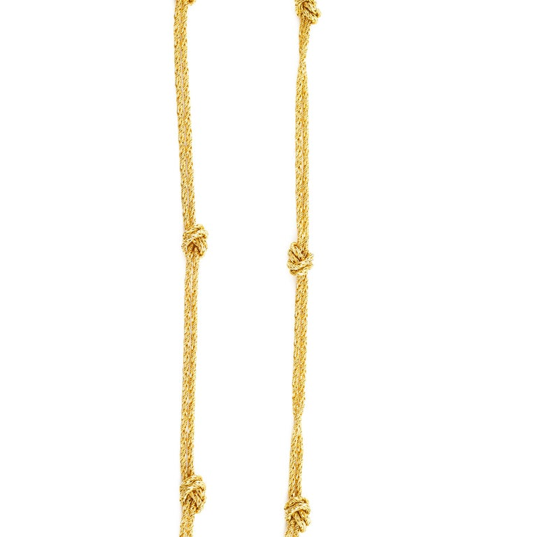 Gold Necklace by Tiffany & Co., Germany For Sale 1
