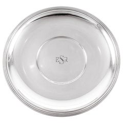 Tiffany & Co. Midcentury Sterling Dish