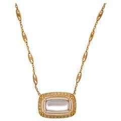 Tiffany & Co Moonstone Necklace