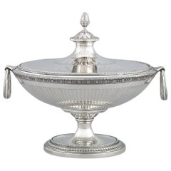 Tiffany & Co. Neoclassical Silver Soup Tureen