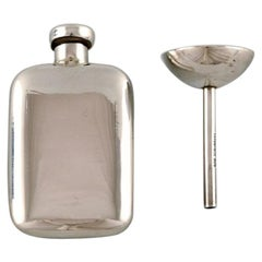 Tiffany & Co. 'New York', Rare Art Deco Perfume Set in Sterling Silver