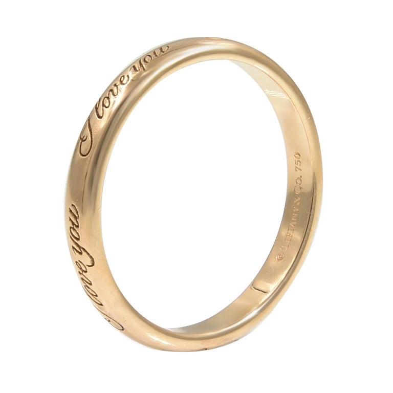 8551abda9b9d2 Tiffany & Co. Notes 18 Karat Rose Gold Wide