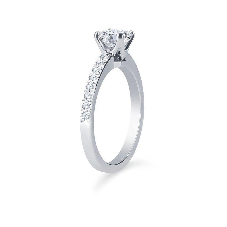Tiffany And Co Nova Cushion 0 71 H Vvs1 Carat Diamond