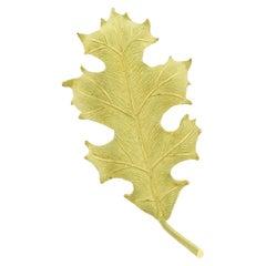 Tiffany & Co. Oak leaf Brooch Pin