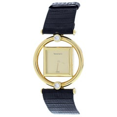 Tiffany & Co. Paloma Picaso 18 Karat Yellow Gold Ladies Watch Original Box