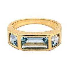 Tiffany & Co. Paloma Picasso Blue Topaz Ring