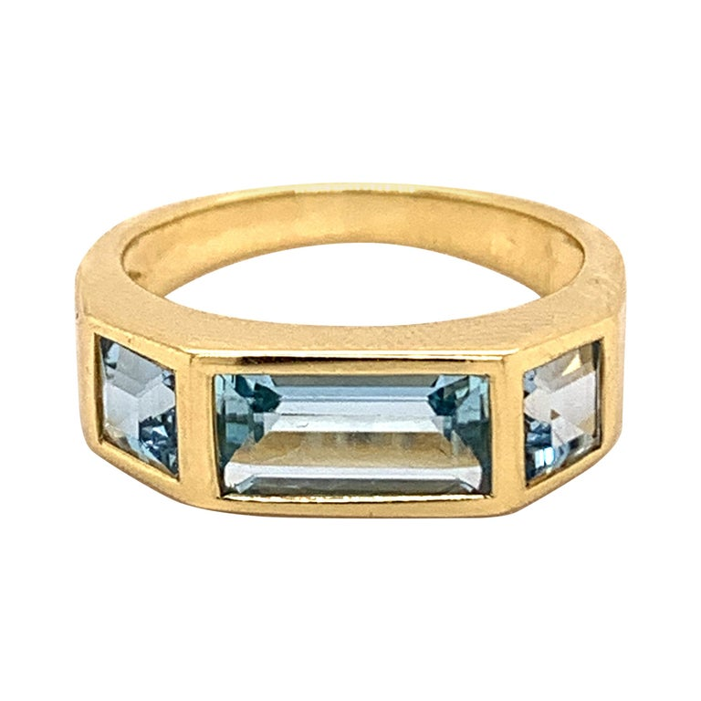 Tiffany & Co. Paloma Picasso Blue Topaz Ring For Sale
