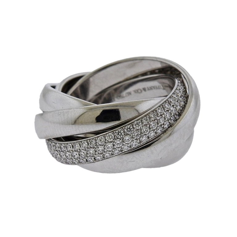 51d1ad817 Tiffany and Co. Paloma Picasso Melody Diamond Gold Ring For Sale at ...