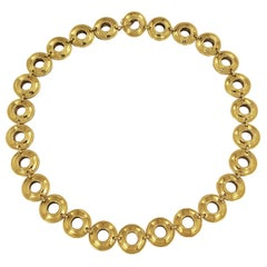 Tiffany & Co. Paloma Picasso Reversible Magic Disk Gold and Silver Necklace