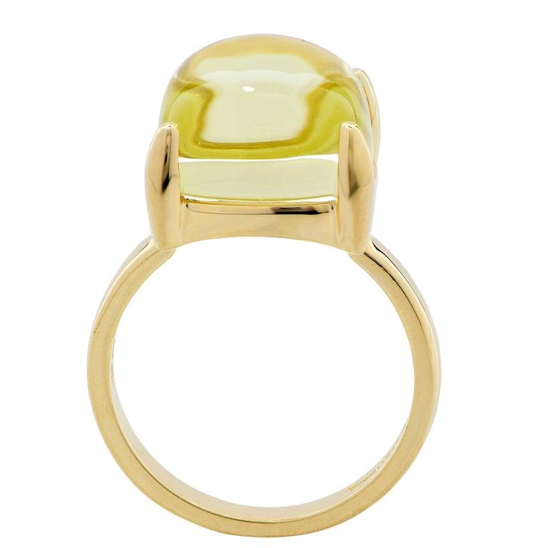 1519da99c Tiffany and Co. Paloma Picasso Sugar Stacks Citrine 18 Karat Yellow Gold  Ring. Ring
