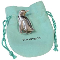 Tiffany & Co. Penguin Sterling Whimsical Brooch