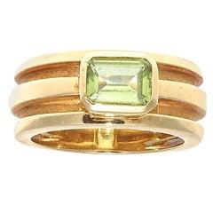 Tiffany & Co. Peridot Gold Ring