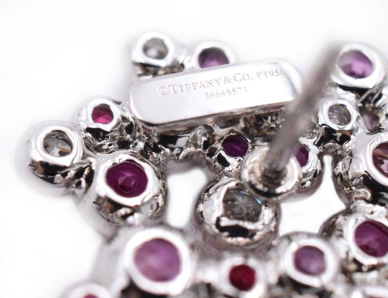 Tiffany & Co. Pink Diamond, Sapphire Bracelet or Earrings For Sale 1