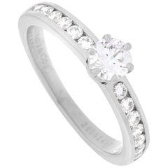 Tiffany & Co. Platinum 0.50 Carat Diamond Ring