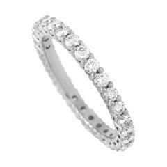 Tiffany & Co. Platinum 1.00 Carat Diamond Eternity Band Ring