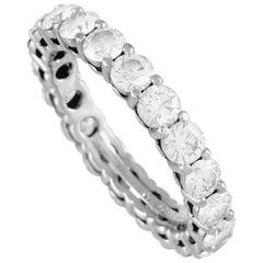 Tiffany & Co. Platinum 1.60 Carat Diamond Eternity Band