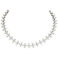 Tiffany & Co. Platinum 20 Carat Diamond Necklace