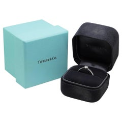 Tiffany & Co. Platinum and Diamond Ring