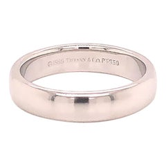 Tiffany & Co. Platinum Classic Wedding Band
