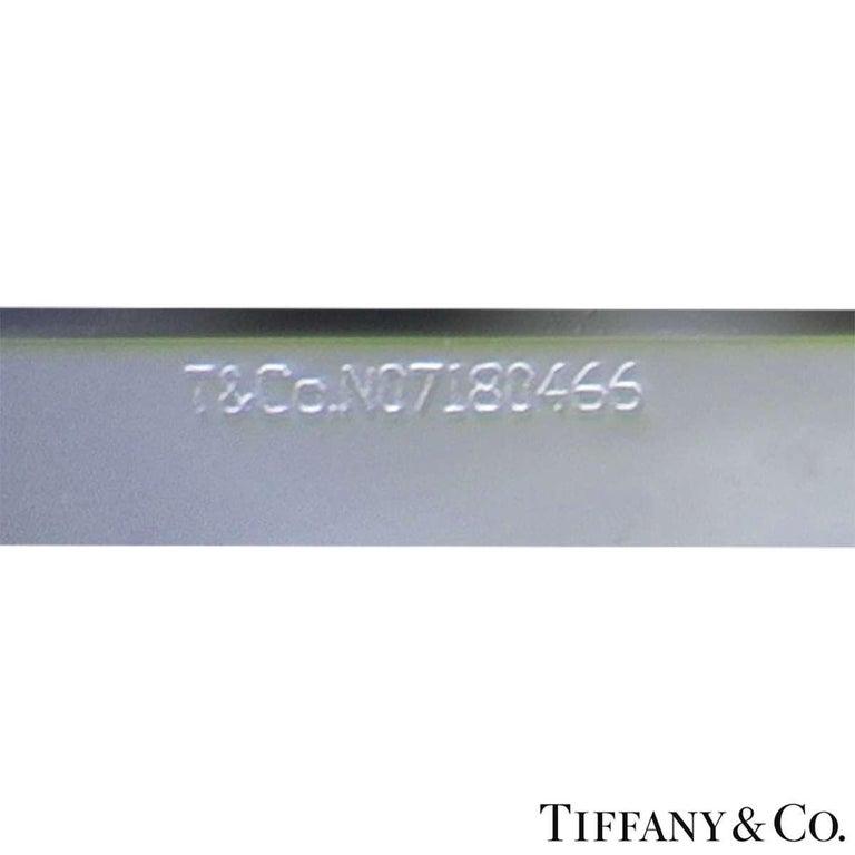 Tiffany & Co. Platinum Cushion Cut Diamond Novo Ring 2.22 Carat G/VVS1 For Sale 4