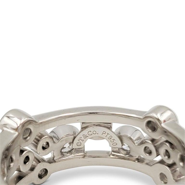 Women's Tiffany & Co. Platinum Diamond 'Bubbles' Ring For Sale