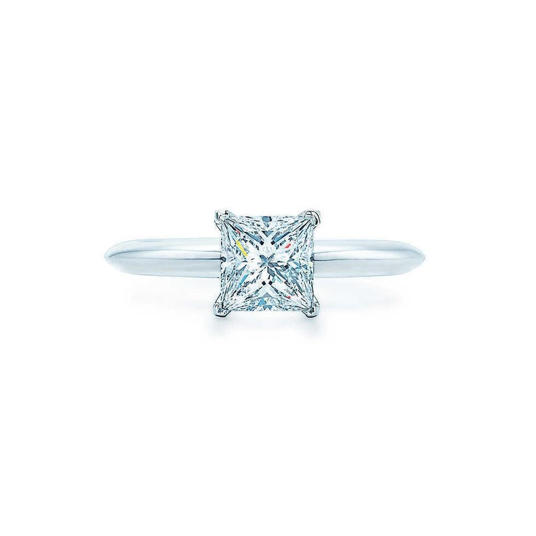 570584ecb Tiffany & Co. Style: Princess Cut Solitaire Engagement Ring Serial Number:  29695148/