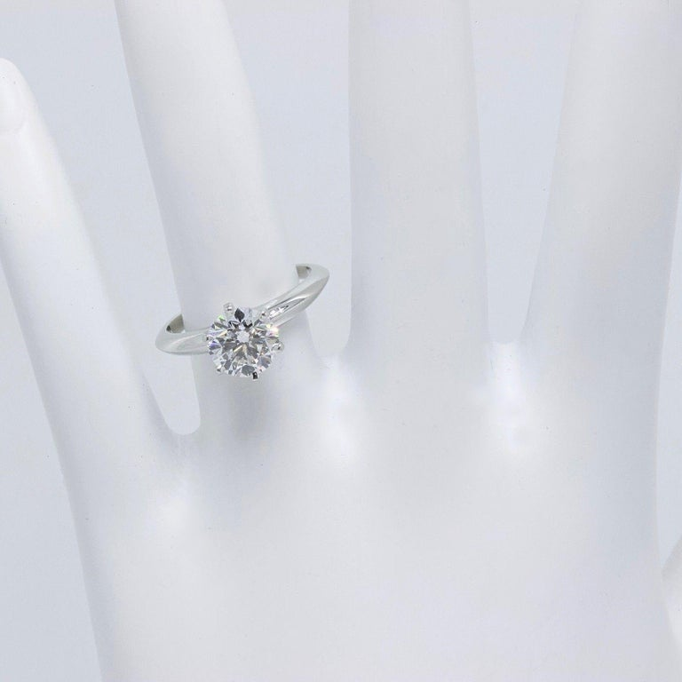 70ed014e2 Tiffany & Co. Style: Classic Solitaire Engagement Rings Serial Number:  60439591 / R05090014