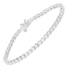 Tiffany & Co. Platinum Diamond Victoria Bracelet 4.60 Carat
