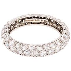 Tiffany & Co. Platinum Etoile Diamond Ring