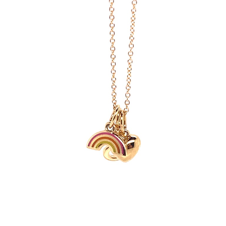 Tiffany & Co. Pride and Joy Pendant, 18kt Yellow Gold For Sale 3