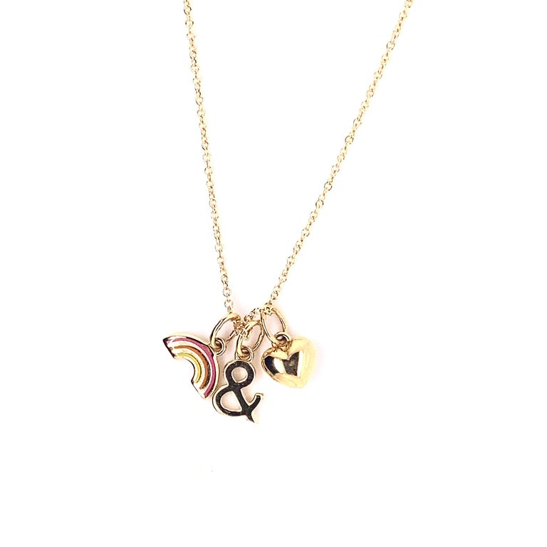 Tiffany & Co. Pride and Joy Pendant, 18kt Yellow Gold For Sale 4