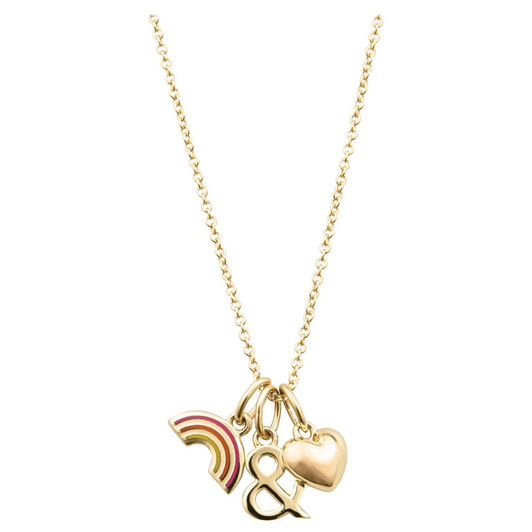 Tiffany & Co. Pride and Joy Pendant, 18kt Yellow Gold For Sale