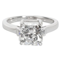 Tiffany & Co. Radiant Diamond Engagement Ring in Platinum E VS1 2.00 Carat