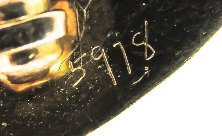 Women's or Men's Tiffany & Co. Retro Amethyst Gold Bow Brooch For Sale