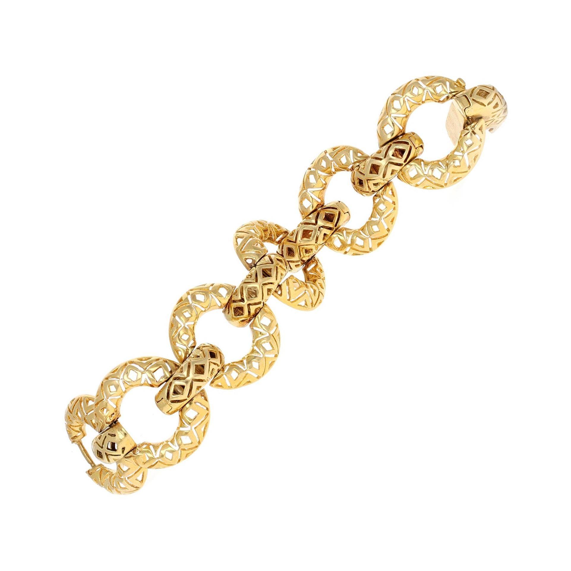 Tiffany & Co. Retro Link Bracelet