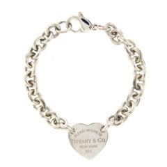 Tiffany & Co. Return to Heart Tag Charm Bracelet